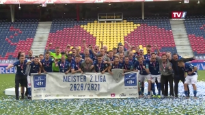 FB: 2. Liga. FC Liefering vs. FC Blau Weiss Linz