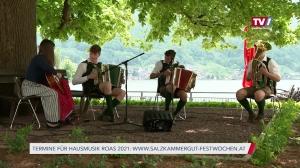 Stardirigent initiiert 1. Hausmusik Roas in Gmunden