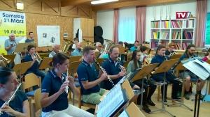 Erste Probe: Die Stadtkapelle Gmunden is back!
