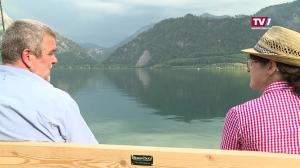 Neues TV1-Bankerl für die Seenregion