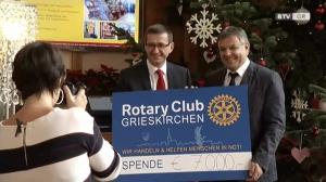 Rotary-Club Grieskirchen lässt Weihnachten gelingen