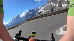 Lukas Kaufmann beendet Race Across the Alps