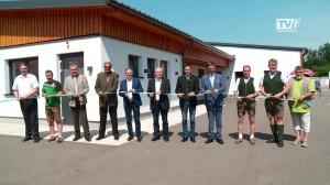 2 unter einem Dach: Eröffnung der Gemeinschaftssportanlage UFC Grünau  und SV Grünau
