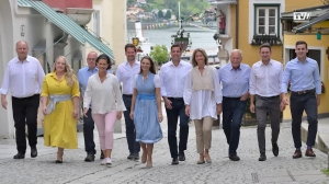 Team Bürgermeister Stefan Krapf: erfolgreiche Bilanz