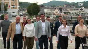 Breit aufgestellt - das Team Bürgermeister Krapf