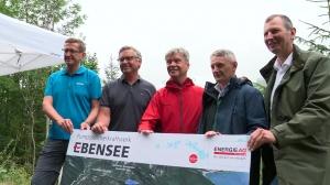 Umsetzungsphase des Pumpspeicherkraftwerks in Ebensee eingeleitet