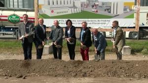 Spatenstich in Ennsdorf an der Donau VFI Oil for Life
