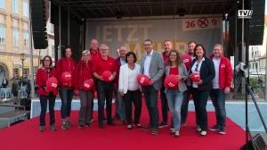 SPÖ Wahlkampfauftakt in Steyr
