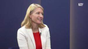 Bildungslandesrätin Christine Haberlander zum Schulstart in OÖ