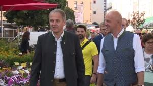 ÖVP unterwegs am Vöcklabrucker Wochenmarkt
