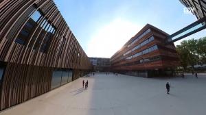 So sieht der neue Campus der Medizinischen Fakultät aus.