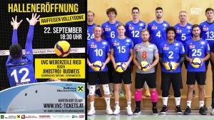 UVC Weberzeile Ried / Neue Halle, neue Saison