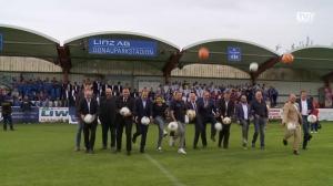 Die neue Heimstätte des FC Blau Weiß Linz