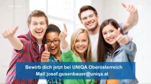 UNIQA auf der Messe Jugend & Beruf