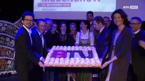 BTV begrüßte Gmundner zum Neujahrsempfang