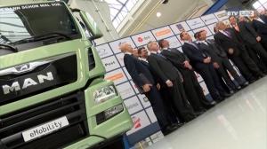 OÖNachrichten – MAN braut Elektro Trucks
