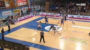 Basketball: Cup Final 4 - Swans Gmunden - Oberwart Gunners