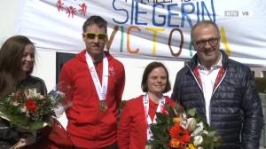 Empfang der Olympiasieger in Gampern