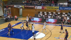 Basketball: Swans Gmunden - Fürstenfeld Panthers