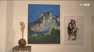 Doppelausstellung mit Malerei und Skulpturen