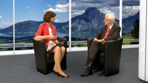 Gespräch mit  VFGH-Präsident Dr. Gerhart Holzinger