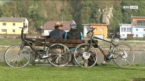 Radeln ist Trendy. Der Donauradweg ist für die neue Saison gerüstet.