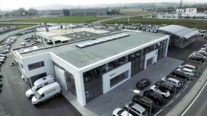 Einer der modernsten VW-Schauräume Europas!