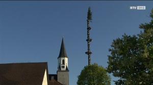Maibaumaufstellen in Ohlsdorf