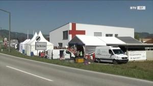 Große Feierlichkeit beim Roten Kreuz Hartkirchen