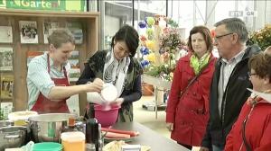 Rhabarberzeit in der BTV-Gartenschau-Küche