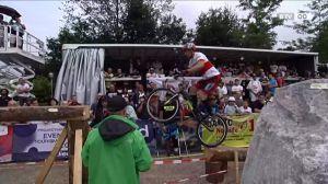 Konzentration und Körperbeherrschung pur beim UCI Trials World Cup
