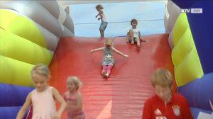 NIVEA Famielenfest in der Weberzeile begeisterte Groß und Klein