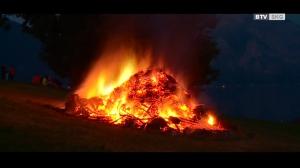 Sonnwendfeuer in Altmünster