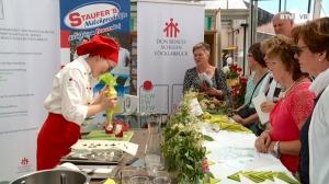 Kochen auf der Landesgartenschau: Erdbeeren
