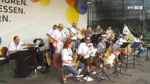 Big Band der Musikschule St. Georgen i. A. bei der OÖ Landesgartenschau