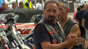 Harte Biker, weicher Kern bei der Easy Rider Charity Tour