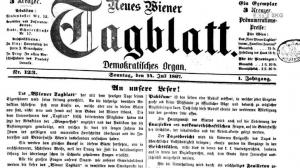 Journalismus in Steyrermühl - wir blättern 150 Jahre zurück!
