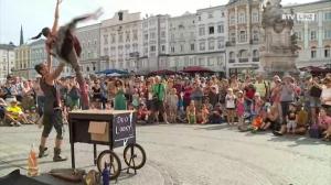Linz als Open-Air-Bühne für die Straßenkunst – Pflasterspektakel 2017