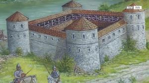 Landesausstellung 2018: Der römische burgus von Oberranna