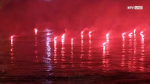 Donau in Flammen