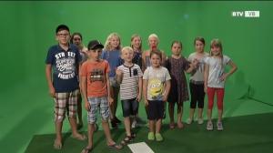 Kinder machen Fernsehen