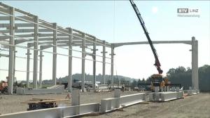 Wolf Systembau errichtet neue Halle für die STIWA Group
