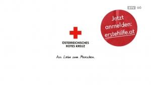 Rotes Kreuz – Erste Hilfe Kampagne