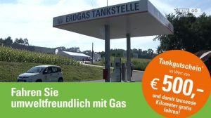 Sprit sparen, Erdgas fahren!