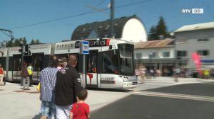 Eröffnung der Linie 4 in Traun