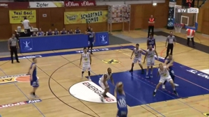 Basketball: Basket Swans Gmunden - Oberwart Gunners