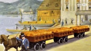 Die Pferdeeisenbahn