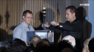 Mentalist Manuel Horeth verzaubert das Linzer Rathaus