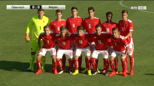 ÖFB-Ländermatch in Mondsee! Österreich - Belgien (U18)