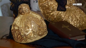 Gratulation der Linzer Goldhaube zum Immateriellen Kulturerbe